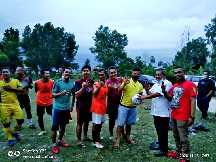 Amris Peduli Olahraga dan Sapa Warga Bukit Timah - Mekar Sari, Dumai
