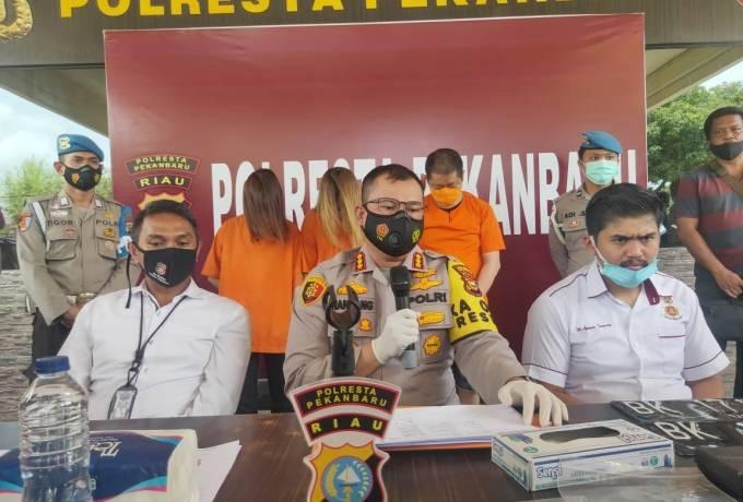 Polresta Pekanbaru Berhasil Tangkap Sindikat Hipnotis