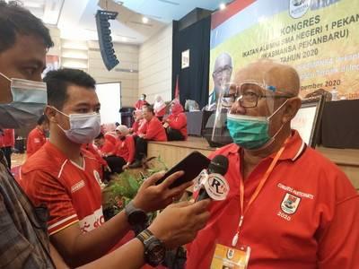 Anto Rahman Kembali Nakhodai Ikasmansa Pekanbaru