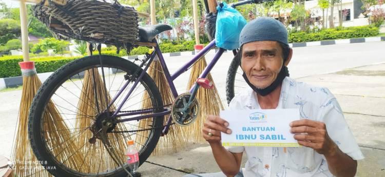 Rumah Yatim Riau Bantu Ibnu Sabil untuk Hermonedi