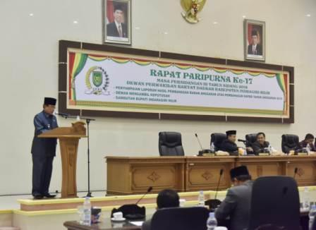 Sah, APBD 2019 Pemkab Inhil Rp2.2 Triliun Lebih