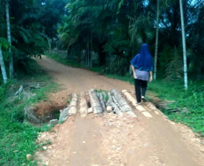 Dusun Sungai Rumbio Kuansing Belum Tersentuh Pembangunan