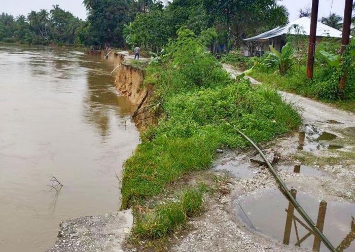 Kepala Desa Gobah Kampar Berharap Pembangunan Turap 2020