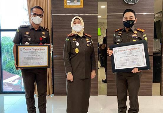 Kejari Kuansing Raih Empat Penghargaan Terbaik dari Kejati Riau