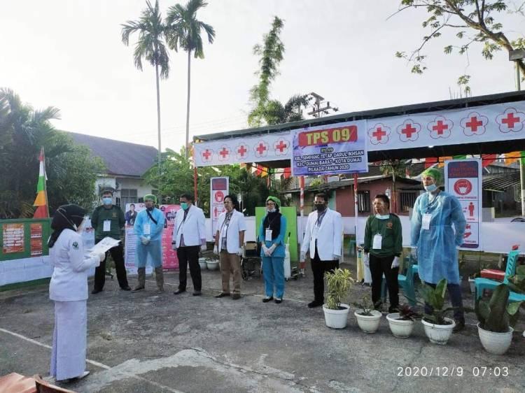 Kreatif TPS 09 STDI Dumai Konsep Klinik Kesehatan Cegah Covid 19